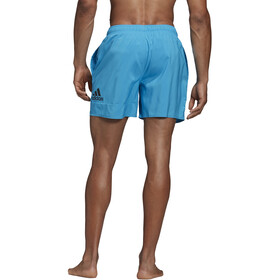 adidas Badge of Sport SL Shorts Men shock cyan/black